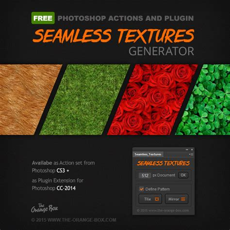 seamless pattern plugin free seamless texture generator photoshop plugin