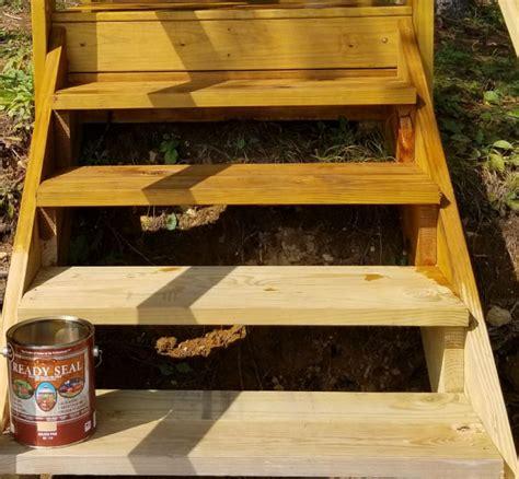 semi transparent deck stain  pressure treated wood