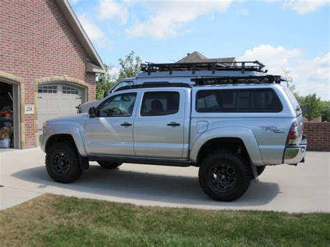 2014 toyota ta roof rack roof rack for a shell tacoma world
