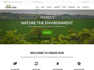 greenfair  website template  css templates