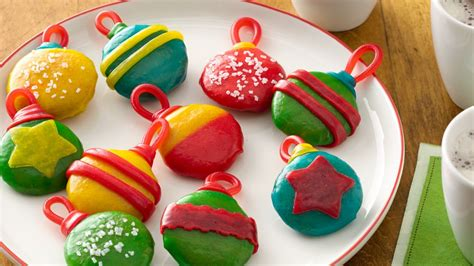 christmas decorations that you bake no bake cookie ornaments recipe from pillsbury