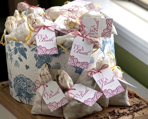 bridal shower tea favor ideas spa themed bridal shower ideas