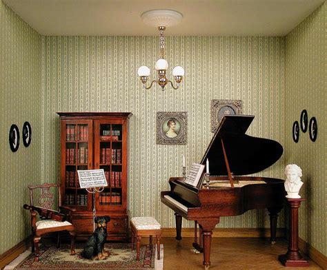 Small Space Salon Ideas - small music room