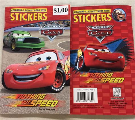 disney pixar cars sticker activity book with 200 stickers set by anon sticker books at the works cars disney pixar coloring activity book with stickers books for sale online ebay