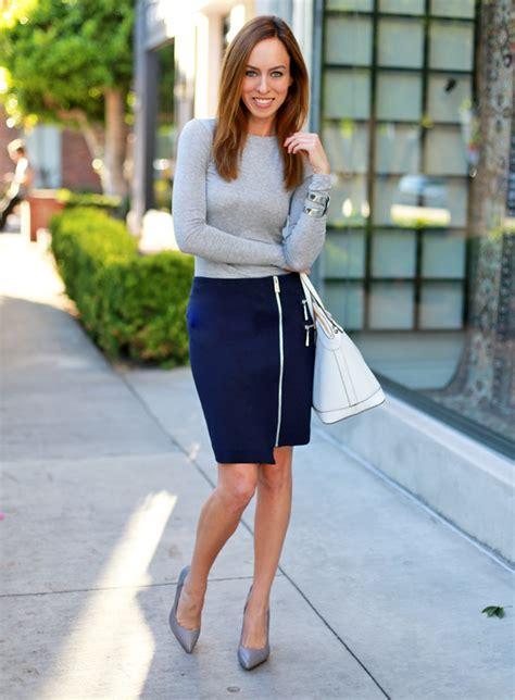 Rok Fashionable Cindia Navy Mini Skirt perfectly sydne style