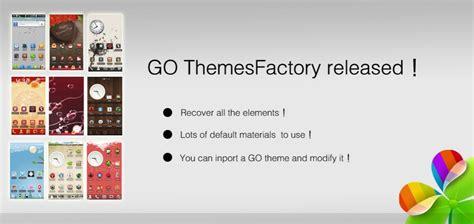 go themesfactory beta con go themesfactory crei temi per il tuo go launcher ex