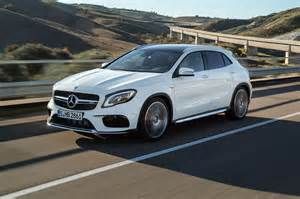 Mercedes Graduate Scheme Mercedes Gla 2017 Facelift Merc Gets The Mascara Out By