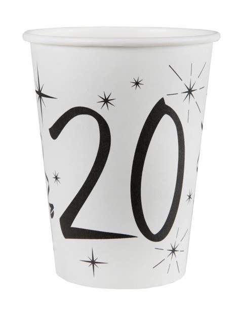 bicchieri bianchi 10 bicchieri bianchi 20 anni su vegaooparty negozio di