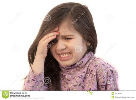 giri di testa with headache stock image image of caucasian
