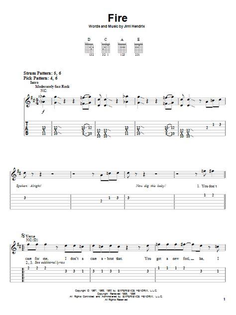 Jimi Hendrix Guitar Chords