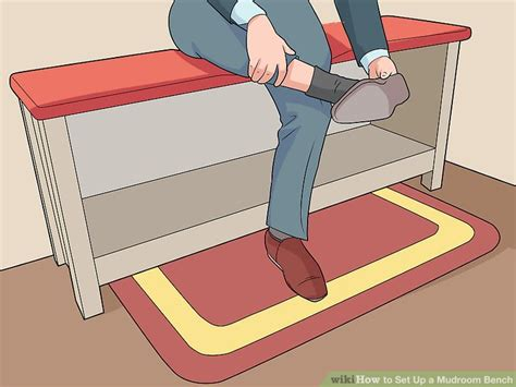 set up bench how to set up a mudroom bench 11 steps with pictures