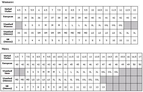 size guide shoes printable european shoe size conversion chart escape