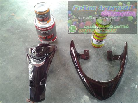 Harga Clear Coat Blinken cat airbrush komparasi produk clearcoat nippon hi gloss