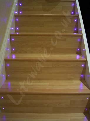 how to change light bulbs in a stairwell how to fit fibre optic lights to stairs
