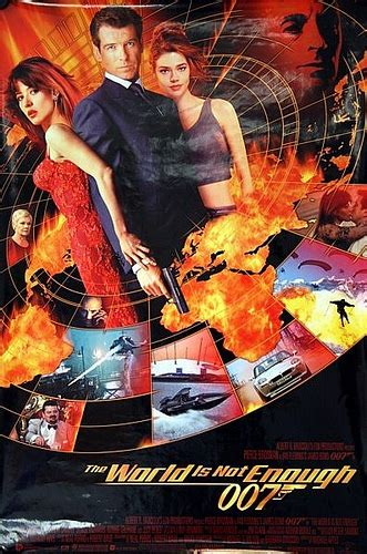 film james bond world is not enough james bond 007 the world is not enough 1999 original us on
