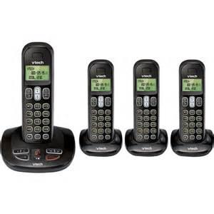walmart home phone vtech cs6199 4 cordless telephone walmart