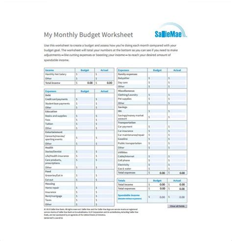 best budget excel template best budget templates 28 images worksheet free