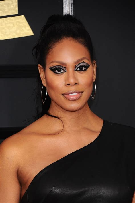 Laverne Cox | laverne cox on red carpet grammy awards in los angeles 2