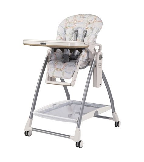 Perego High Chair by Peg Perego 2010 Prima Pappa Newborn High Chair In Circles