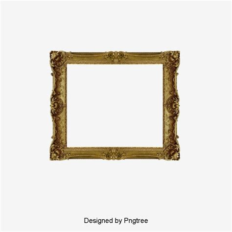 cornici psd gold photo frame frame clipart photo frame frame