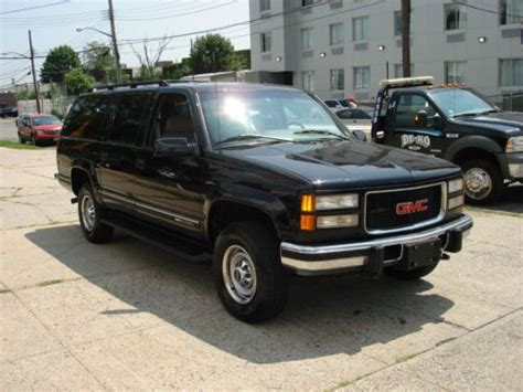 how things work cars 1994 gmc suburban 1500 electronic valve timing sell used 1996 gmc suburban 6 5 turbo diesel own owner government fleet l k in brooklyn new