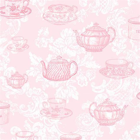 tea party wallpaper wallpapersafari