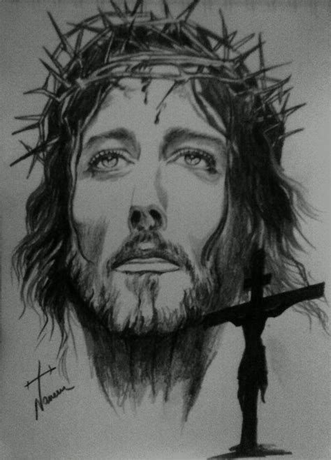 Drawing Jesus by Jesus Sketches