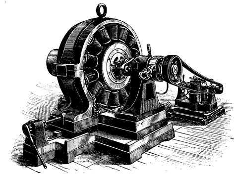 Dynamo Electric Motor by Heritage History Great Inventors And Their Inventions By
