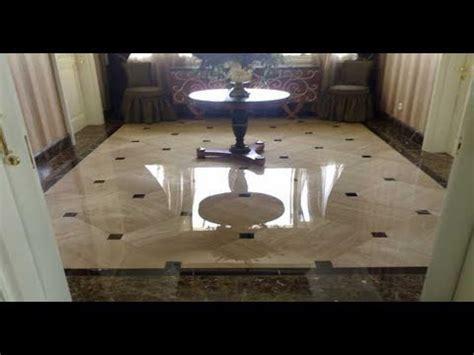 variasi lantai ruang tamu granit rumah moderen minimalis