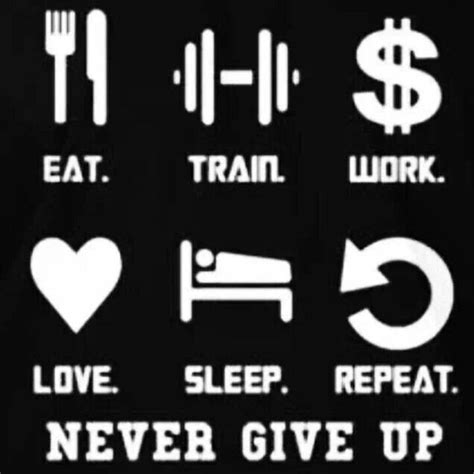 Eat Design Sleep Repeat eat work sleep repeat fitness motivation