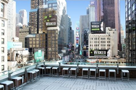 roof top bars in nyc super nova terrace in the novotel time square nyc