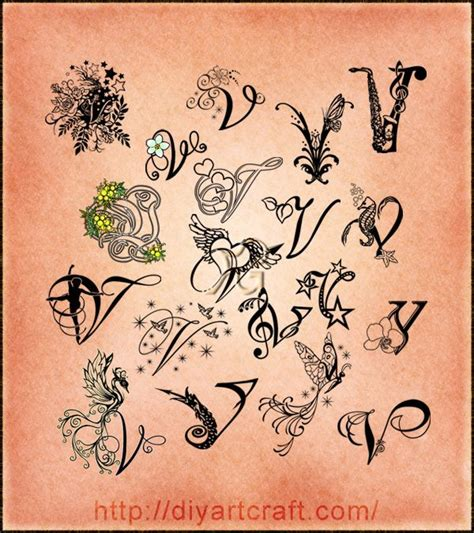 tattoo letter v designs lettering v typography imaginative typography