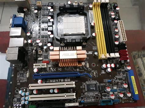 jual motherboard asus   mn em mantappp  lapak afta komputer destinia