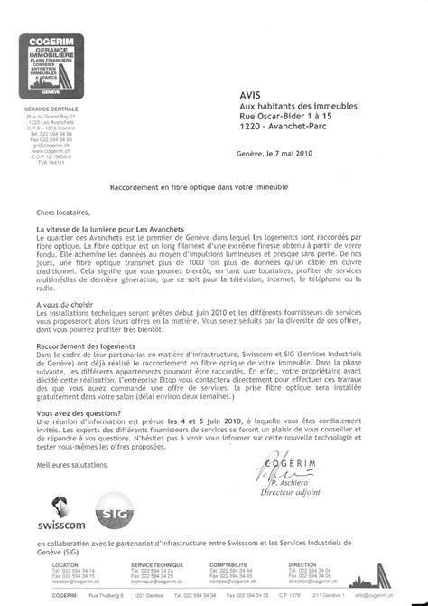 Résiliation Swisscom Lettre Exemple Lettre Resiliation