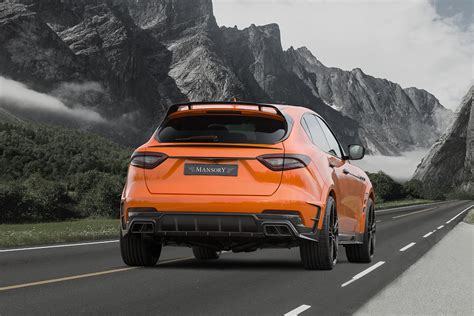 maserati mansory mansory does what they do with the new maserati levante