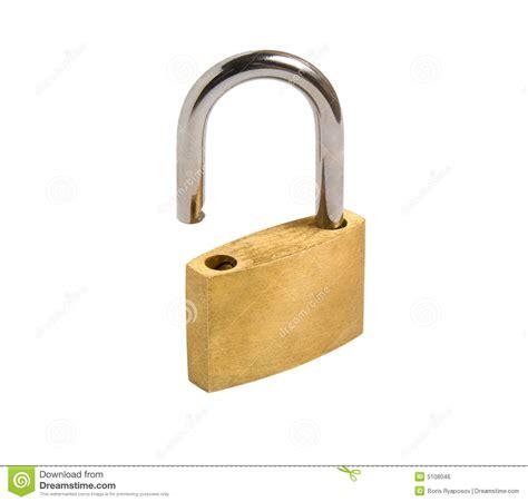 image cadenas ouvert cadenas ouvert d isolement image libre de droits image