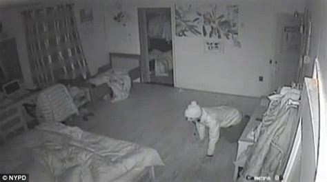 bedroom webcam video shows armed burglar crawl into sleeping family s bedroom mercury news daily