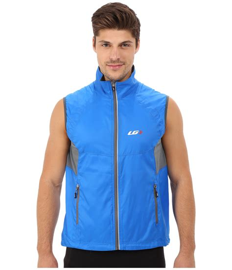 cycling jacket blue louis garneau cabriolet cycling jacket in blue for men lyst