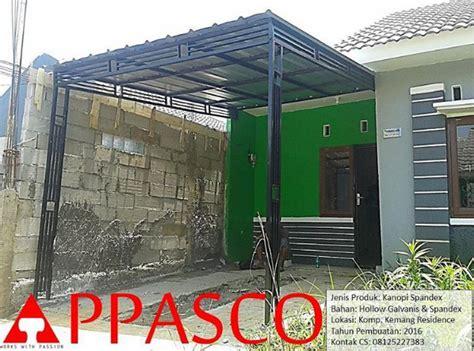 Kanopi Minimalis Atap Spandex di Kemang Residence   Jual
