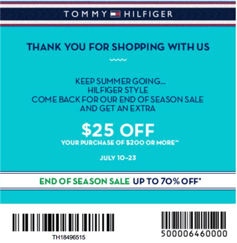 printable coupons outlet stores tommy hilfiger tommy hilfiger coupons printable