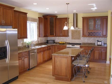 Kitchen Breakfast Bar Overhang 2411 Illinois Road Northbrook Sold For 675 000