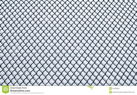 fence pattern photography frozen small chain link fence pattern stock photo image