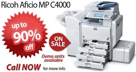 buy mp ricoh aficio mp c4000 for sale buy the ricoh mp c4000 at