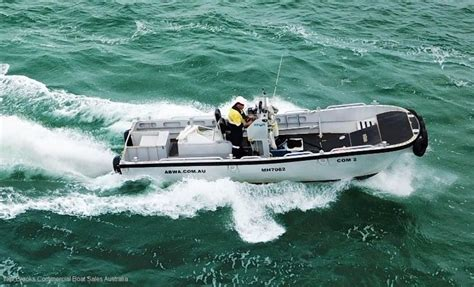 aluminium boats for sale qld aluminium work boat commercial vessel boats online for