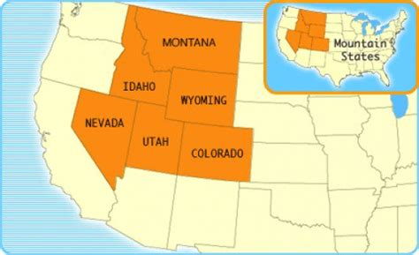 united states map rocky mountains rocky mountain states lesson hubpages