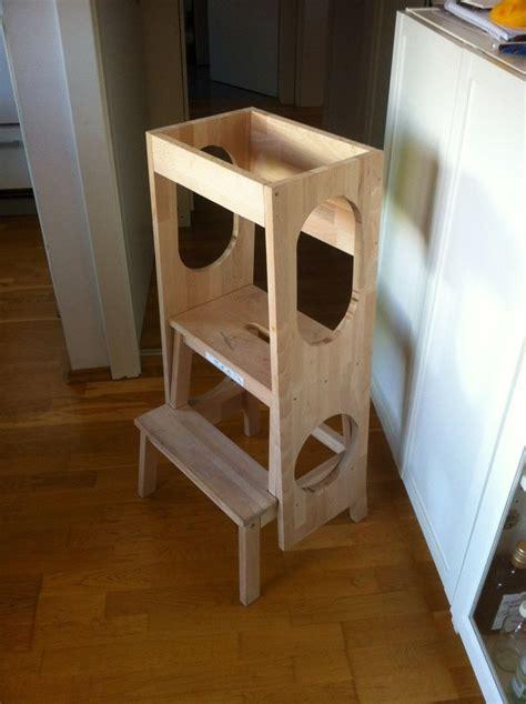 kitchen helper stool ikea der hocker montessori learning tower and kitchen helper