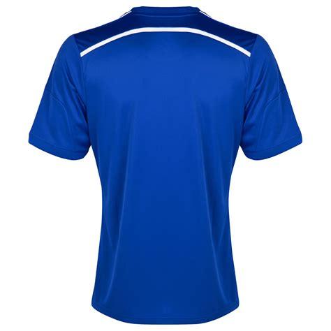 D F T Shirt Dsgn Blue adidas mens chelsea football club home shirt 2014 15 blue