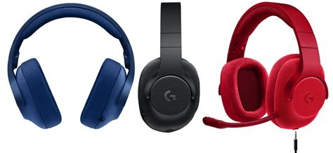 Headset Di Malaysia logitech g433 dan g233 ringan di kepala dan telinga theskop