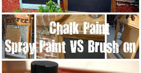 spray painting vs brush spray paint vs brush paint chalkboards hometalk