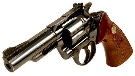 deactivated colt trooper mkiii 357 magnum revolver
